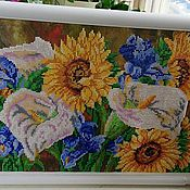 Картины и панно ручной работы. Ярмарка Мастеров - ручная работа Вышивка бисером. Handmade.