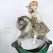 Куклы и игрушки ручной работы. Ярмарка Мастеров - ручная работа Веста. Handmade.