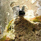 Украшения ручной работы. Ярмарка Мастеров - ручная работа Кольцо зеленый турмалин в серебре. Handmade.
