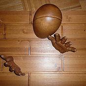 """Для дома и интерьера ручной работы. Ярмарка Мастеров - ручная работа Вешалка настенная """"Девид Коперфилд"""". Handmade."""