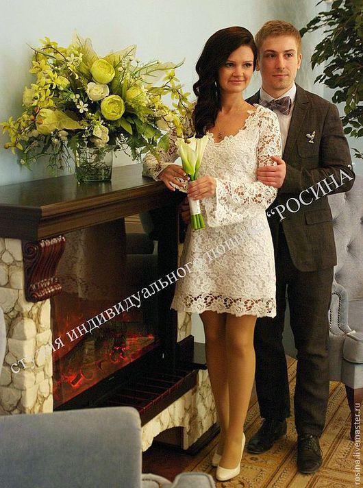 Платья ручной работы. Ярмарка Мастеров - ручная работа. Купить Платье Невеста. Handmade. Белый, платье невесты, платье для свадьбы
