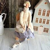 Куклы Тильда ручной работы. Ярмарка Мастеров - ручная работа Снежный ангел. Handmade.
