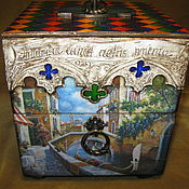 Для дома и интерьера handmade. Livemaster - original item Tea chest of drawers