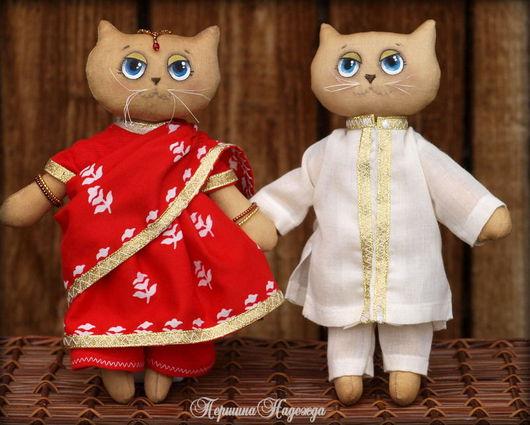 Ароматизированные куклы ручной работы. Ярмарка Мастеров - ручная работа. Купить Влюблённые в Индию. Handmade. Котики, индийский стиль, восток