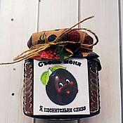 Culinary souvenirs handmade. Livemaster - original item Bonbonniere Plum original. Handmade.