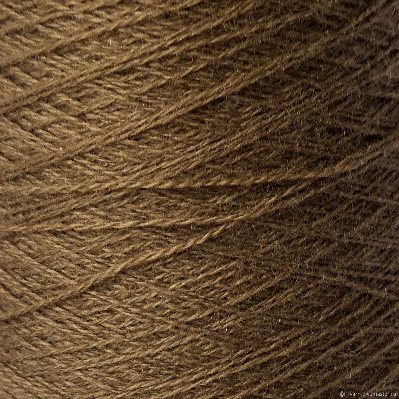 Пряжа Кашемир 2/28 светло-коричневый – купить на Ярмарке Мастеров – M42PQRU | Пряжа, Санкт-Петербург