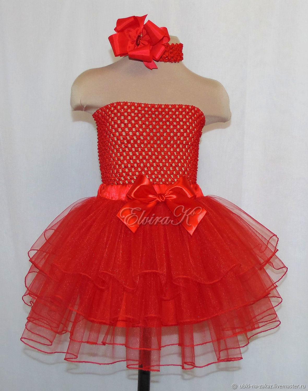 Tiered skirt for girls, Child skirt, Naberezhnye Chelny,  Фото №1