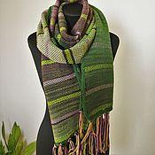 Аксессуары handmade. Livemaster - original item Large multi-colored spring Paint scarf. Handmade.