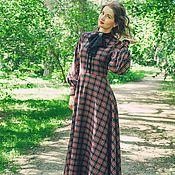 Одежда ручной работы. Ярмарка Мастеров - ручная работа Платье длинное Леди Сентябрь. Handmade.