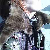 Одежда ручной работы. Ярмарка Мастеров - ручная работа куртка-парка АЛМАЗЫ ШАХА. Handmade.