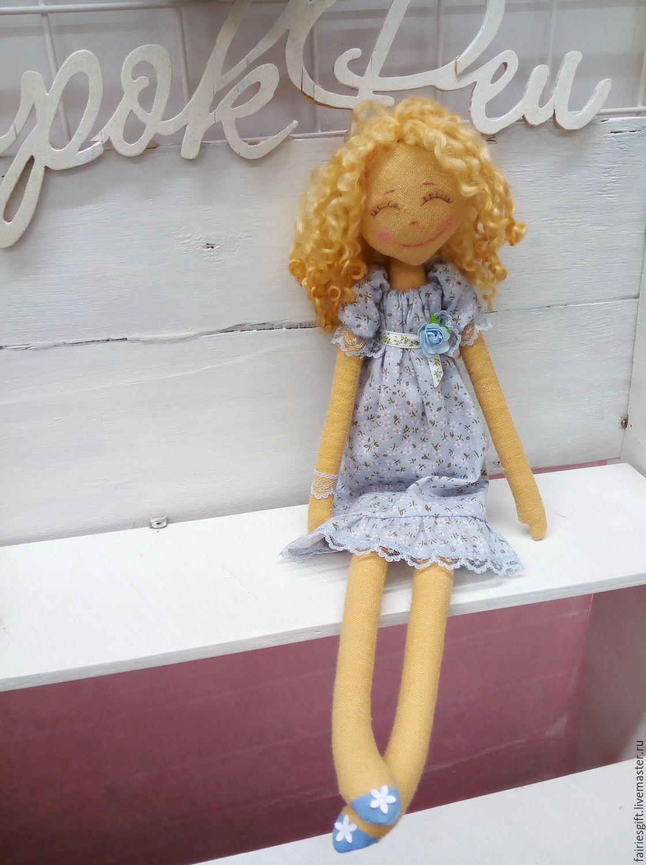 Текстильная кукла Зои, Куклы и пупсы, Москва,  Фото №1