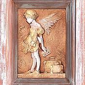 Картины и панно ручной работы. Ярмарка Мастеров - ручная работа панно Ангел. Handmade.