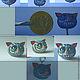 Миниатюрные модели ручной работы. Ярмарка Мастеров - ручная работа. Купить БРЕЛОК ЧЕШИРСКИЙ КОТ. Handmade. Серый, кот