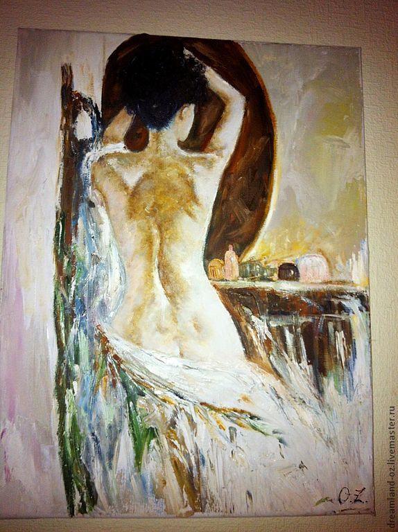 Oil painting ' Alone...', Pictures, Vladivostok,  Фото №1