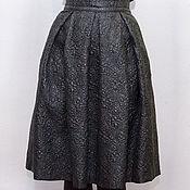 Одежда ручной работы. Ярмарка Мастеров - ручная работа Юбка из фактурной ткани. Handmade.