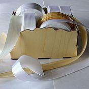 Материалы для творчества ручной работы. Ярмарка Мастеров - ручная работа Коробочка для лент. Handmade.