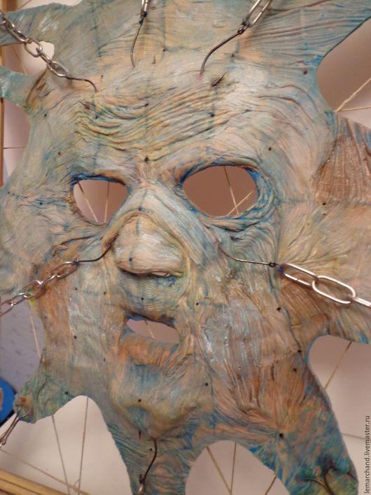 Интерьерные  маски ручной работы. Ярмарка Мастеров - ручная работа. Купить «Hellraiser». Handmade. Hellraiser, цепи, bdsm, рыболовные крючки