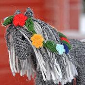 Куклы и игрушки ручной работы. Ярмарка Мастеров - ручная работа Вязаная лошадка игрушка Лето. Handmade.