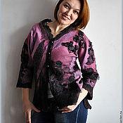 """Одежда ручной работы. Ярмарка Мастеров - ручная работа Пуловер валяный """"Соблазн"""". Handmade."""