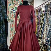 Одежда handmade. Livemaster - original item dresses: Dress in the style of the 50s