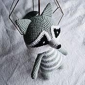 Куклы и игрушки handmade. Livemaster - original item raccoon. Cute stripey.. Handmade.