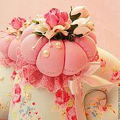 Куклы и игрушки handmade. Livemaster - original item Snail Tilda (pink cloud). Handmade.