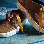 Обувь ручной работы handmade. Livemaster - original item Slip - ons: autumn sneakers. Handmade.