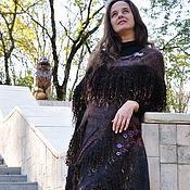 "Одежда ручной работы. Ярмарка Мастеров - ручная работа Шёлковый, валяный сарафан ""Прогулка по парку"".. Handmade."