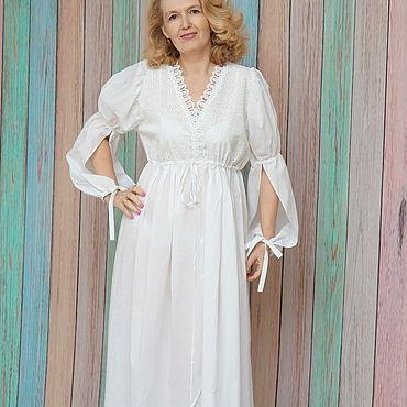 Одежда ручной работы. Ярмарка Мастеров - ручная работа Будуарное платье ,ночная сорочка,принцесса Турандот. Handmade.