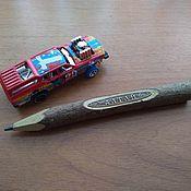 Карандаши ручной работы. Ярмарка Мастеров - ручная работа Деревянный карандаш с гравировкой, сувенир, индивидуальный дизайн. Handmade.