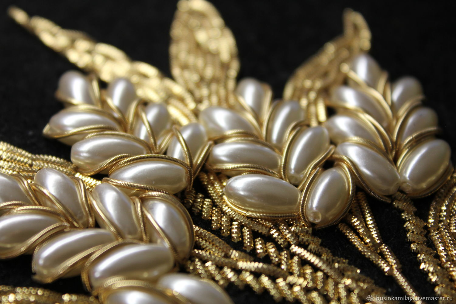 Embroidery Gold Thread Wheat Shop Online On Livemaster With