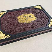 Сувениры и подарки handmade. Livemaster - original item Classic Kama Sutra (leather gift book). Handmade.
