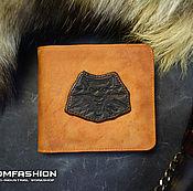 Сумки и аксессуары handmade. Livemaster - original item The Witcher man leather wallet. Handmade.
