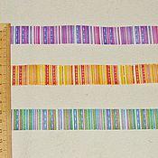 Материалы для творчества ручной работы. Ярмарка Мастеров - ручная работа Тесьма 3 цвета шир. 22 мм.. Handmade.