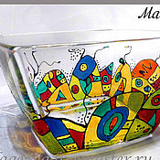Посуда ручной работы. Ярмарка Мастеров - ручная работа Марсианский городок.. Handmade.