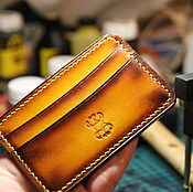 Сумки и аксессуары handmade. Livemaster - original item The image of the leather /coin purse /purse /wallet/wallet/small wallet. Handmade.