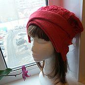 Аксессуары handmade. Livemaster - original item Beanie Merino wool. Handmade.