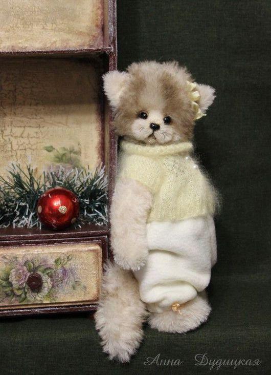 Мишки Тедди ручной работы. Ярмарка Мастеров - ручная работа. Купить Лизи... Handmade. Авторская игрушка, Кошки, оригинальный подарок