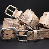 Ремни ручной работы. Ярмарка Мастеров - ручная работа Кожаные ремни ручной работы. Handmade.