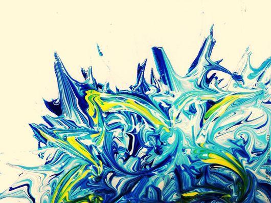 """Абстракция ручной работы. Ярмарка Мастеров - ручная работа. Купить Картина """"волнение"""". Handmade. Картина, абстракция, холст, акриловые краски"""