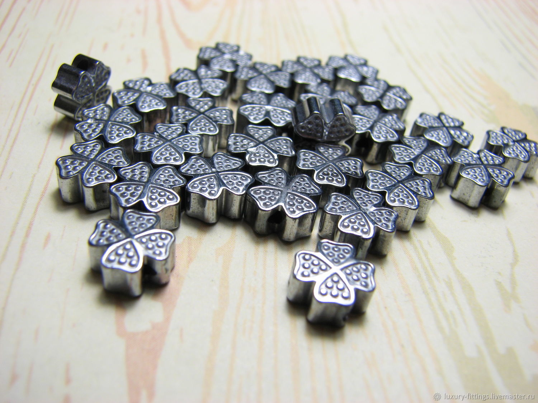 Clover, ceramic beads, four-leaf clover, Beads1, Moscow,  Фото №1