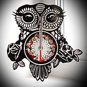 "Для дома и интерьера handmade. Livemaster - original item Watch ""the Owl"". Handmade."