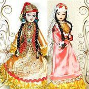Dolls handmade. Livemaster - original item Tatar dolls in folk costumes. Handmade.