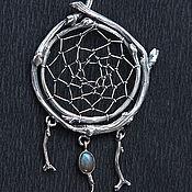 Украшения handmade. Livemaster - original item Dream catcher complex with stone. Handmade.