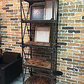Стеллажи ручной работы. Ярмарка Мастеров - ручная работа Стеллажи: Стеллаж Master Loft. Handmade.