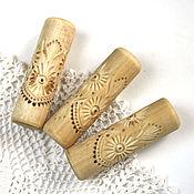 Для дома и интерьера ручной работы. Ярмарка Мастеров - ручная работа Скалка для пряников из серии кружево. Handmade.