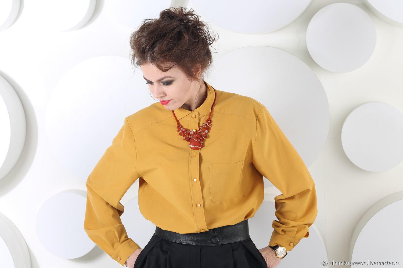 f529019c2614c1d Рубашка женская – купить в интернет-магазине на Ярмарке Мастеров с ...