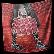 Аксессуары ручной работы. Ярмарка Мастеров - ручная работа Шелковый платок. Handmade.