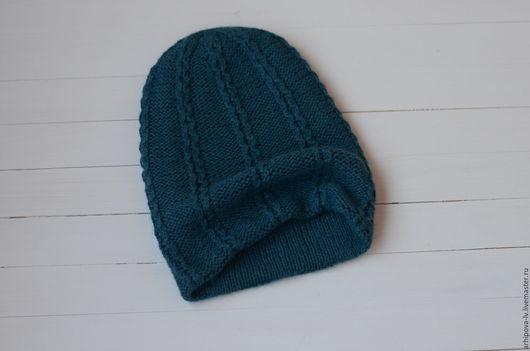 """Шапки ручной работы. Ярмарка Мастеров - ручная работа. Купить Вязаная шапка вязаная шапка вязанная """"Море"""". Handmade."""