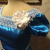 """Одежда ручной работы. Ярмарка Мастеров - ручная работа Платье """"Бал-Лазурь"""". Handmade."""